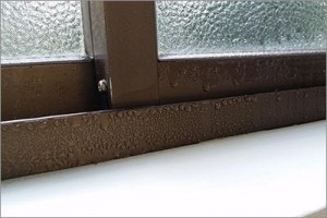 window condensation, moisture on the outside of your windows